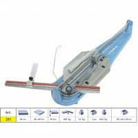 TILE CUTTER MACHINE MANUAL PROFESSIONAL SIGMA 2B3 SERIE TECNICA CUTTING LENGHT 66 CM