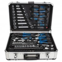 MOBILE WORKSHOP TOOL BOX CASE WITH ACCESSORIES TOOLS 101 PCS TB150 SCHEPPACH