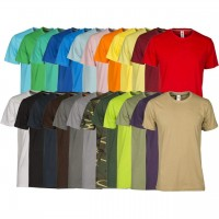 MEN'S SHORT SLEEVE T-SHIRT 100% COTTON PAYPER SUNSET