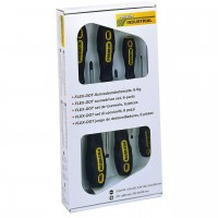 6 PIECE SCREWDRIVER SET PROXXON 22604 FLEX-DOT